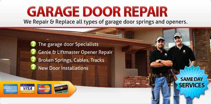 Garage door repair Mead Valley CA